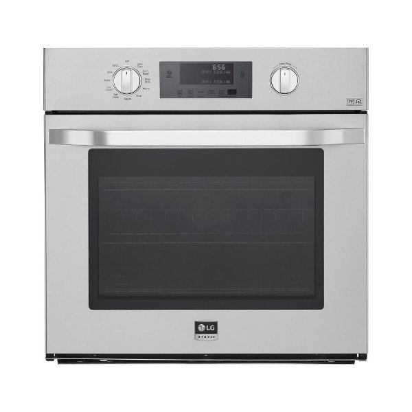 Lsws306st Lg Studio 30 Inch 4 7 Cu Ft Single Wall Oven Stainless Steel