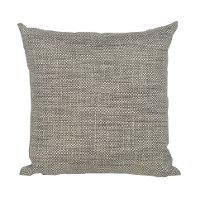 Gray and Taupe Woven Indoor-Outdoor Throw Pillow