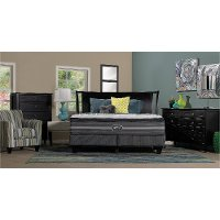 700730103-1050 Beautyrest Luxury Firm Pillow Top Queen Mattress - Black Katarina