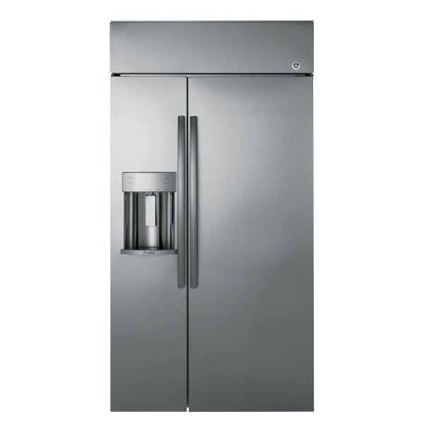 PSB42YSKSS GE Built In Side By Side Refrigerator   42 Inch ...