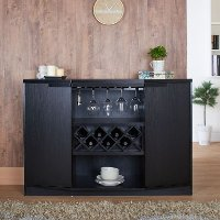 YNJ-1445-1 Contemporary Wine Cabinet - Pleasanton