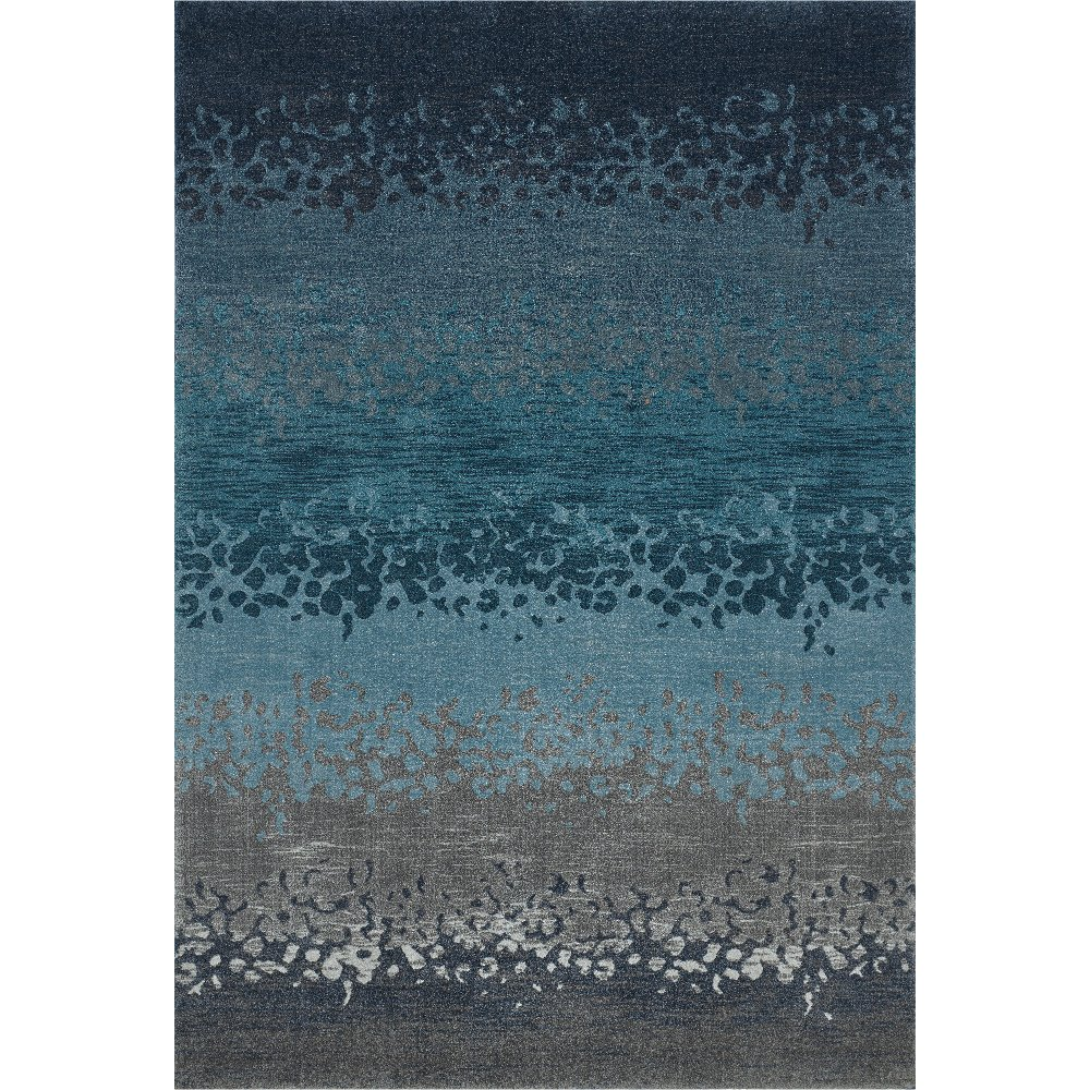 8 x 11 Large Ombre Blue & Gray Area Rug - Geneva | RC Willey Furniture Store