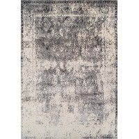 8 x 11 Large Tan and Gray Area Rug - Antiquity