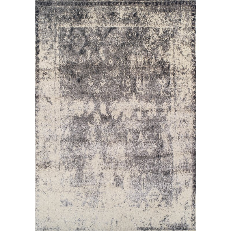 8 X 11 Large Tan And Gray Area Rug Antiquity