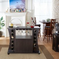 YNJ-1508C5 Wine Rack with Buffet - Morton