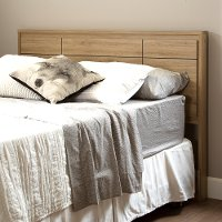 9068256 Rustic Oak Queen Panel Headboard (60 Inch) - Gravity