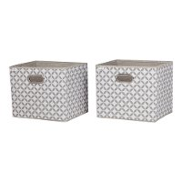 8050138 Fabric Storage Baskets (Set of 2) - Storit