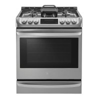 LSG4513ST LG Gas Range with ProBake convection - 6.3 cu. ft. Stainless Steel