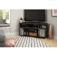 10127 Gray Oak Corner TV Stand - City Life