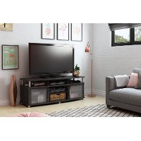 10128 Gray Oak Contemporary TV Stand - City Life