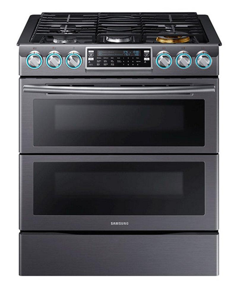 Black Stainless Steel Kitchen Appliances: Samsung Black Stainless Steel 3 Piece Kitchen Appliance