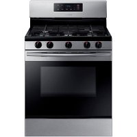NX58K3310SS Samsung 30 Inch 5.8 cu. ft. Gas Range - Stainless Steel
