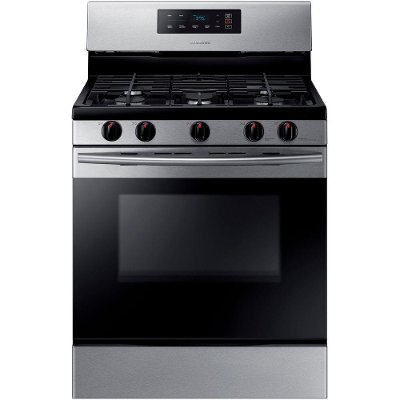 NX58K3310SS Samsung Gas Range - 5.8 cu. ft. Stainless Steel