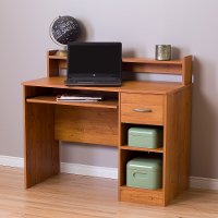 10133 Country Pine Small Desk - Axess
