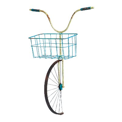 Metal Bicycle Wall Decor front basket metal bicycle wall decor & planter | rc willey