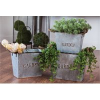 11 Inch Nested Metal Garden Planter