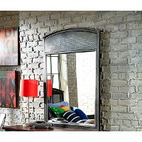 1265-721 Modern Metal Mirror - Urban Quarters