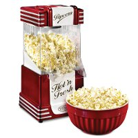 Retro-Style Hot Air Popcorn Popper
