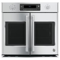 CT9070SHSS Cafe 30 Inch French Door Smart Single Wall Oven - Stainless Steel