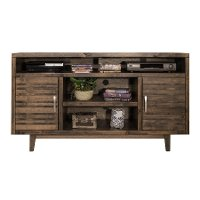 62 Inch Charcoal Brown TV Stand - Avondale