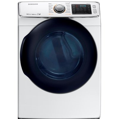 DV45K6500EW Samsung Multi-Steam Electric Dryer -  7.5 cu. ft. White