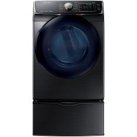 DV50K7500EV Samsung Electric Dryer - 7.5 cu. ft. Black Stainless Steel