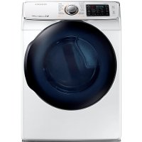 DV50K7500GW Samsung Gas Dryer with Eco-Dry Technology - 7.5 cu. ft. White