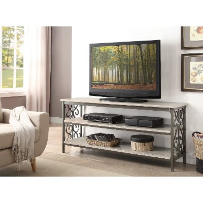 60 Inch Traditional TV Stand or Sofa Table Fairhope RC Willey