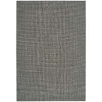 4 x 6 Small Charcoal Gray Indoor-Outdoor Rug - Weatherwise