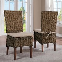 Sherborne Hazelnut Woven Dining Chair
