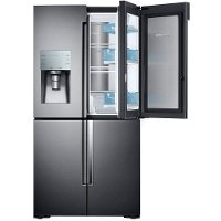RF28K9380SG Samsung 4 Door French Door Refrigerator - 36 Inch Black Stainless Steel