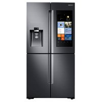 RF28K9580SG Samsung 36 Inch Black Stainless Steel 28 Cu. Ft. Family Hub Refrigerator