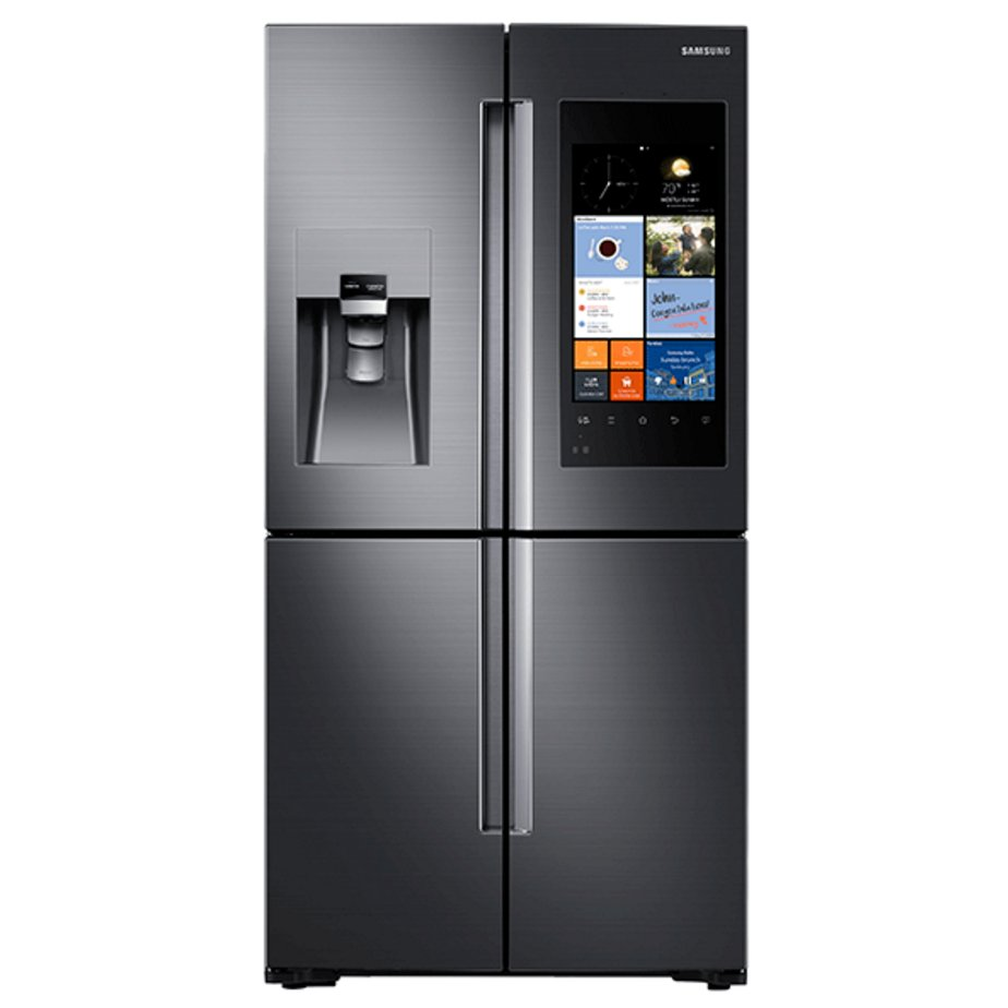 Samsung 36 Inch Family Hub Refrigerator Counter Depth - Black Stainless  Steel | RC Willey Furniture Store