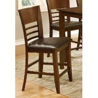 Brown Cherry Counter Stool - Colin Collection