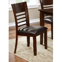 Brown Cherry Side Chair - Colin Collection