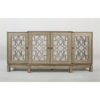 Casa Bella Champagne Gold 70 Quot Mirrored Console Rc Willey