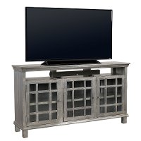 65 Inch Metallic Blue TV Stand - Preferences