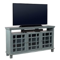65 Inch Slate Blue Tv Stand Preferences Rc Willey