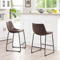 Aviator Brown Counter Stool Rc Willey Furniture Store