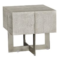 contemporary whitewash end table desmond rc willey  contemporary furniture stores in las vegas nv