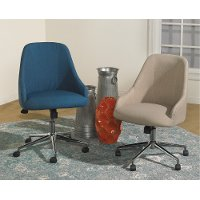 Blue Upholstery Office Chair