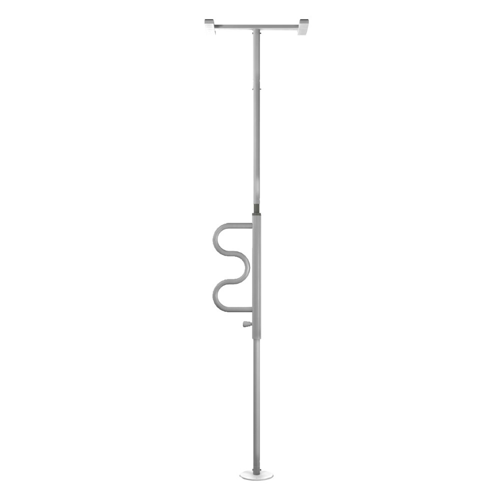 White Security Pole & Grab Bar | RC Willey Furniture Store