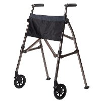 4300-BW Black Walnut EZ Fold-N-Go - Walker Collection
