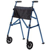 4300-CB Cobalt Blue EZ Fold-N-Go - Walker Collection