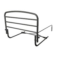 8050 Black Safety Bed Rail (30 Inch) - Rails Collection