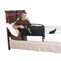 8051 Black Bed Rail & Padded Pouch (30 Inch) - Rails Collection