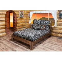 MWHCPBCAKSL California King Platform Bed - Homestead