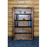 MWHCBCSSL Rustic Bookcase - Homestead