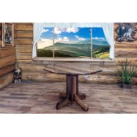 MWHCPTSL Dining Table - Rustic Homestead