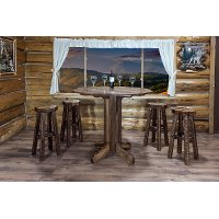 MWHCPTTSL Rustic Pub Table - Homestead